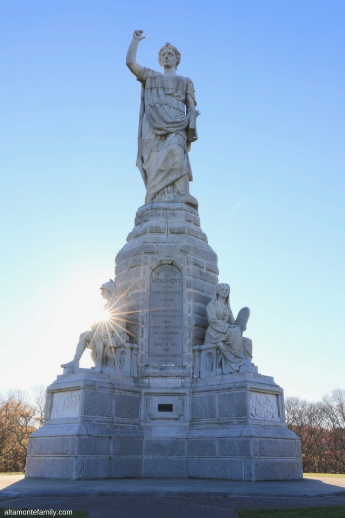 National Monument To The Forefathers - Plymouth Massachusetts - Family Friendly Road Trip Destinations