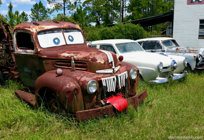 Rusty Tow Truck Junk Yard Georgia Road Trip
