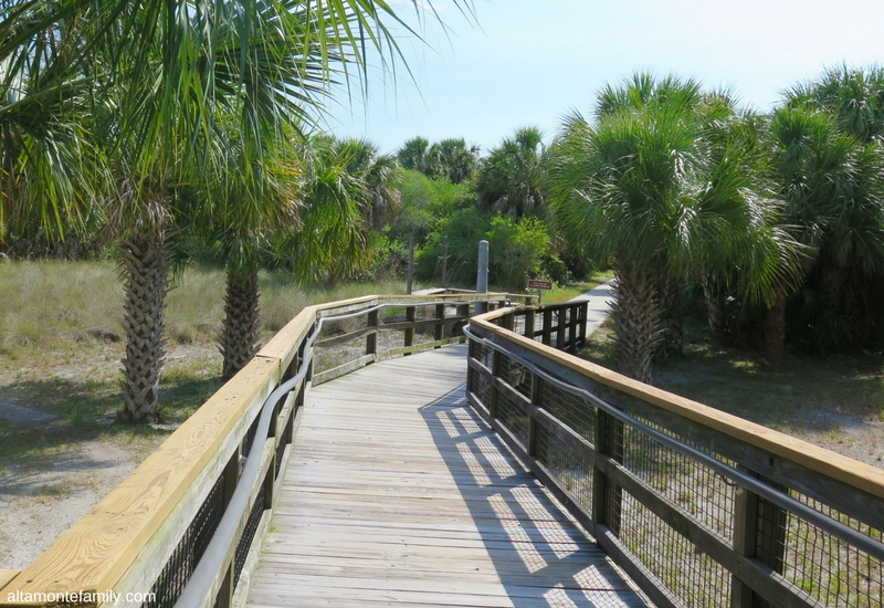 Caladesi Island Florida - Boardwalk