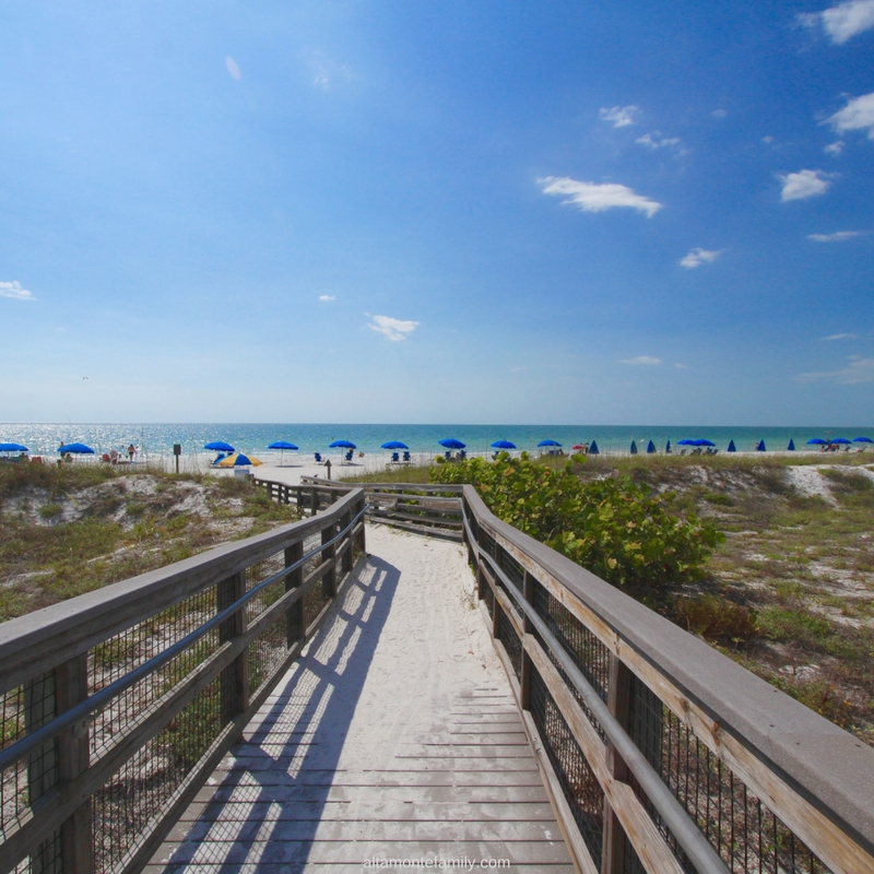 Caladesi Island Florida Boardwalk