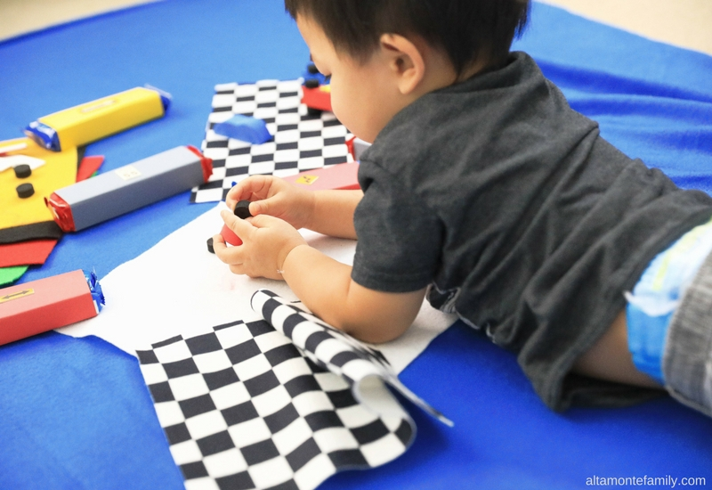 Fun Potty Training Ideas For Boys - Pit Stop Race Car Crafts