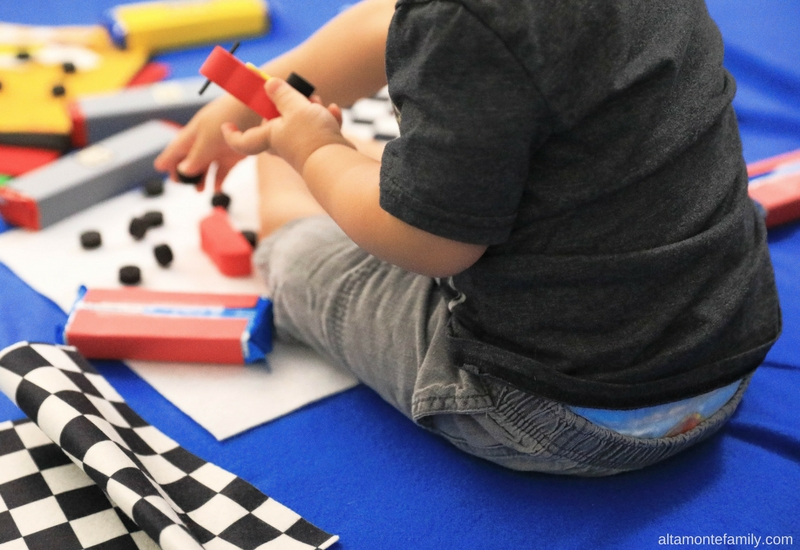 Fun Potty Training Ideas For Toddler Boys - Race Car Pit Stop Station