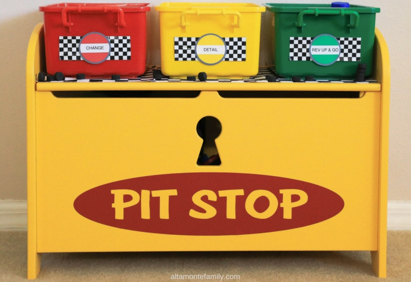 Fun Potty Training Tips and Ideas for Boys - Race Car Pit Stop