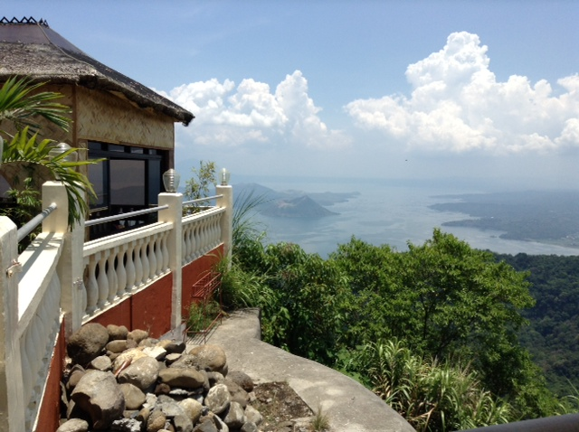 Tagaytay Philippines - RSM Lutong Bahay Taal Volcano View