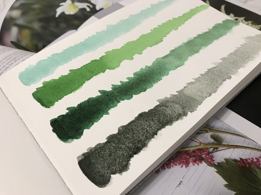 Daniel Smith Watercolor Greens - Review