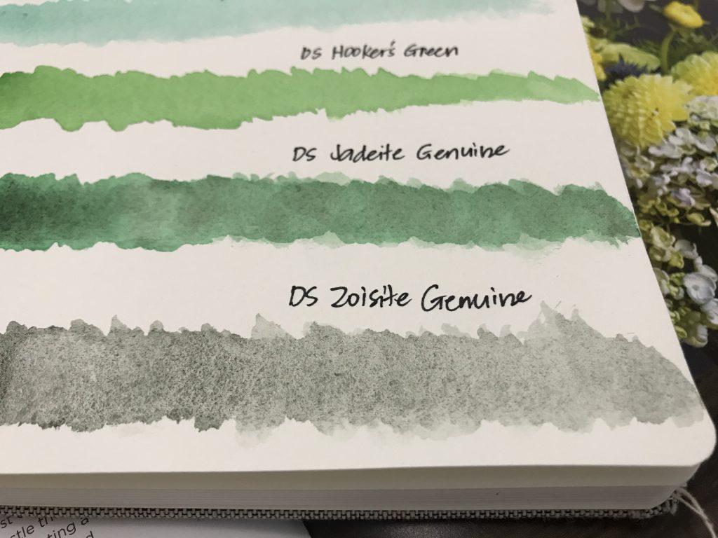 Daniel Smith Zoisite Genuine Watercolor Review